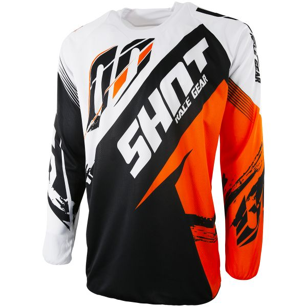 Maillot Cross SHOT Contact Fast Orange