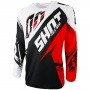 Maillot Cross SHOT Contact Fast Red