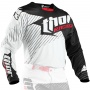 Maillot Cross Thor Core Hux Black White