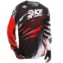 Maillot Cross SHOT Devo Capture Red Enfant