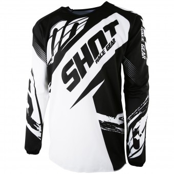 Maillot Cross SHOT Devo Fast Black Enfant