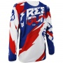Maillot Cross Freegun Devo Honor Blue Red