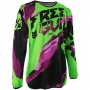 Maillot Cross Freegun Devo Honor Neon Green Purple