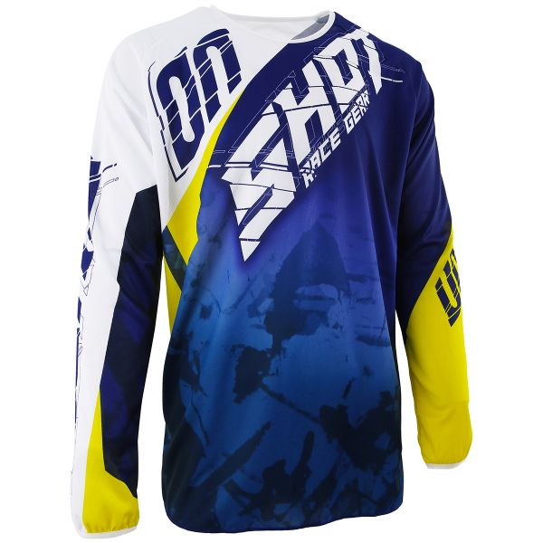 Maillot Cross SHOT Devo Squad Blue Yellow