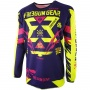 Maillot Cross Freegun Devo Trooper Yellow Magenta Enfant
