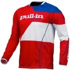Maillot Cross pull-in Fighter Blue White Red