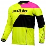 Maillot Cross pull-in Fighter Neon Yellow Pink