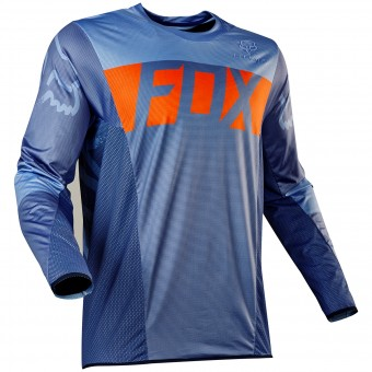 Maillot Cross FOX Flexair Libra Orange Blue 592