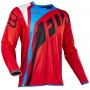 Maillot Cross FOX Flexair Seca Red 003