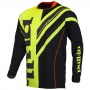 Maillot Cross pull-in Frenchy Neon Yellow Black