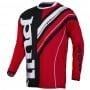 Maillot Cross pull-in Frenchy Red Black