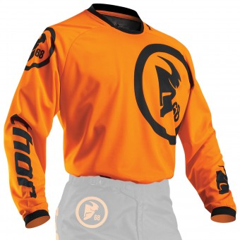 Maillot Cross Thor Phase Gasket Flo Orange Enfant