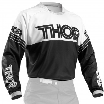 Maillot Cross Thor Phase Hyperion Black Enfant