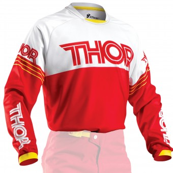 Maillot Cross Thor Phase Hyperion Red White