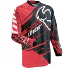 Maillot Cross Thor Phase Splatter Red Jersey Enfant