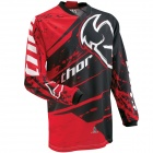 Maillot Cross Thor Phase Splatter Red Jersey