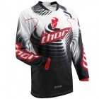 Maillot Cross Thor Phase Vented Warp Red Jersey
