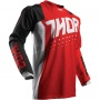 Maillot Cross Thor Pulse Aktiv Black Red Enfant