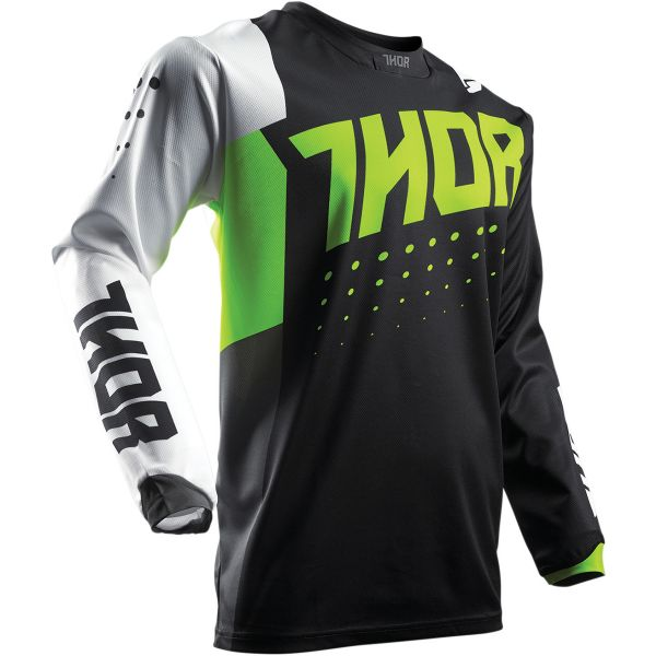 Maillot Cross Thor Pulse Aktiv Lime Black