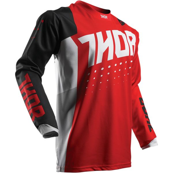 Maillot Cross Thor Pulse Aktiv Red Black