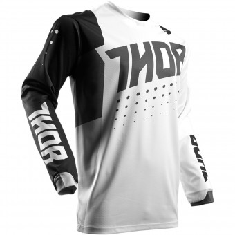 Maillot Cross Thor Pulse Aktiv White Black