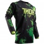 Maillot Cross Thor Pulse Tydy Green Black enfant