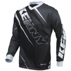 Maillot Cross Kenny Track Black Grey