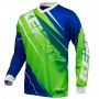 Maillot Cross Kenny Track Neon Green Blue