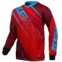 Maillot Cross Kenny Track Red Blue Enfant