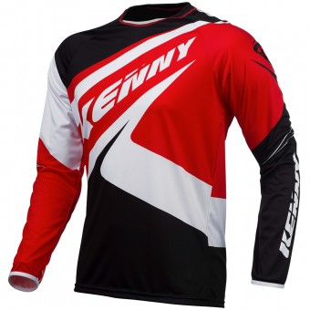 Maillot Cross Kenny Trial Up Black Red
