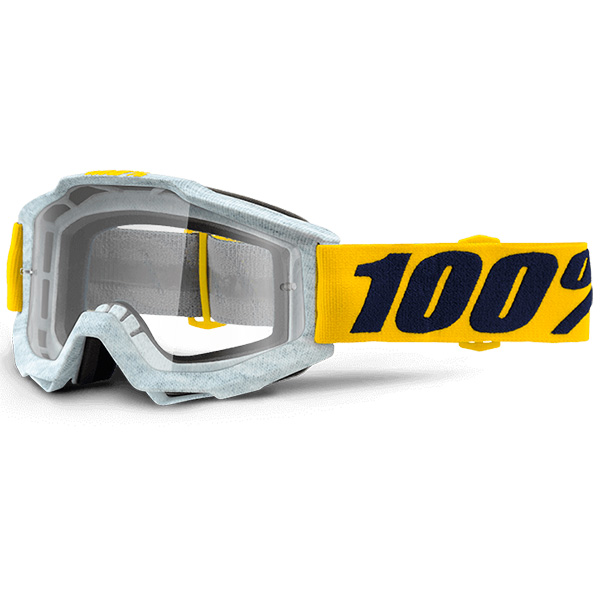 Masque Cross 100% Accuri Athleto Clear Lens