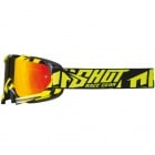 Masque Cross SHOT Volt Neon Jaune