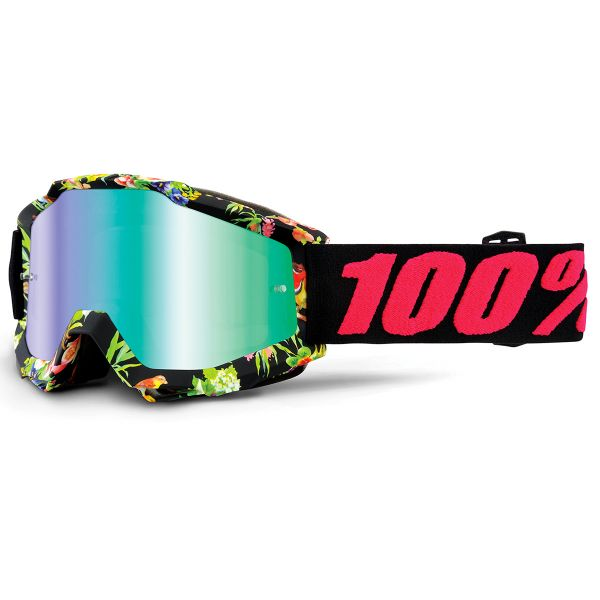 Masque Cross 100% Accuri Chapter 11 Mirror Green Lens