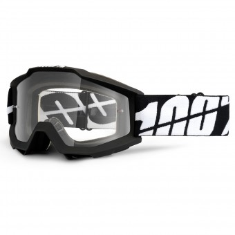 Masque Cross 100% Accuri Goggle Black Tornado