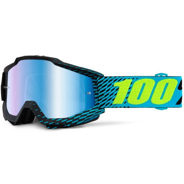 Masque Cross 100% Accuri R-Core Mirror Blue