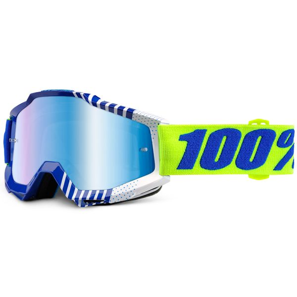Masque Cross 100% Accuri Sundance Mirror Blue