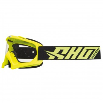 Masque Cross SHOT Creed Neon Jaune