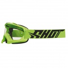 Masque Cross SHOT Creed Neon Vert