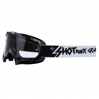 Masque Cross SHOT Creed Noir Enduro