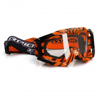 Masque Cross Scorpion Lunette Cross Orange Noir