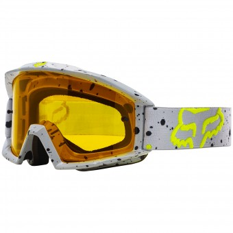 Masque Cross FOX Main Nirv Grey Yellow 086
