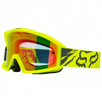 Masque Cross FOX Main Race Yellow 005