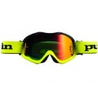 Masque Cross pull-in Pull-In Black Neon yellow