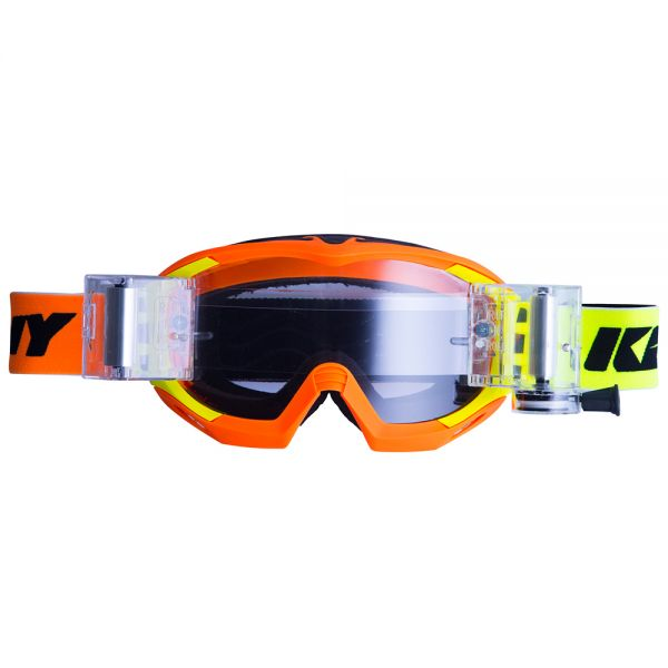 Masque Cross Kenny Speed-Roll Neon Orange Yellow