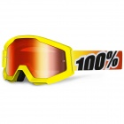 Masque Cross 100% Strata Sunny Days Mirror Red Lens