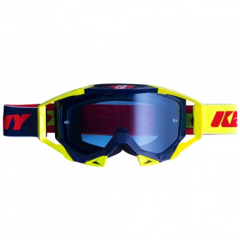 Masque Cross Kenny Titanium Blue Navy Yellow