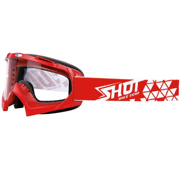 Masque Cross SHOT Volt Red