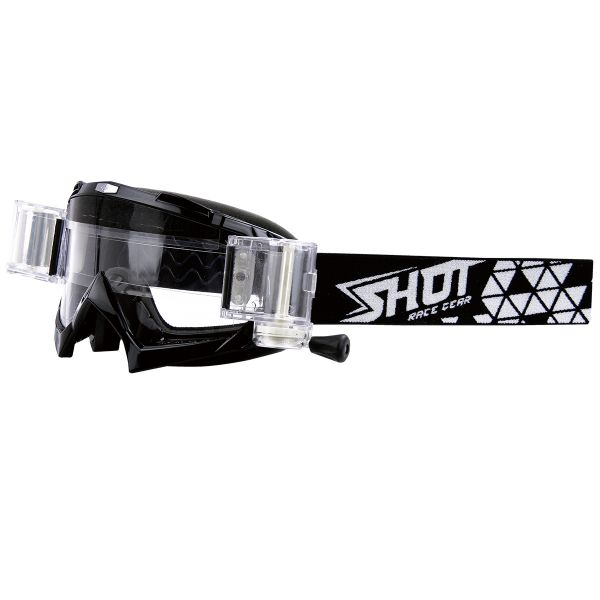 Masque Cross SHOT Volt Roll-Off Black
