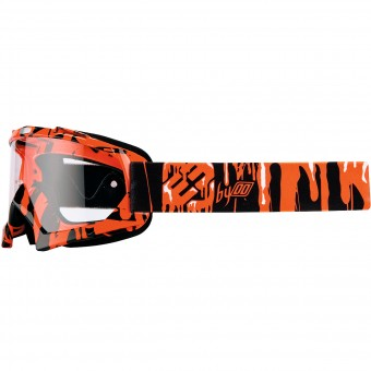 Masque Cross Freegun YH-16 Slime Neon Orange