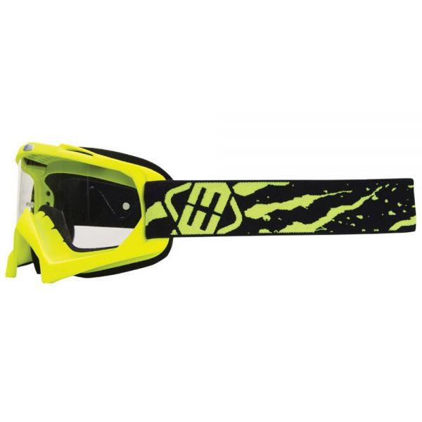 Masque Cross Freegun YH-16 Slime Neon Yellow